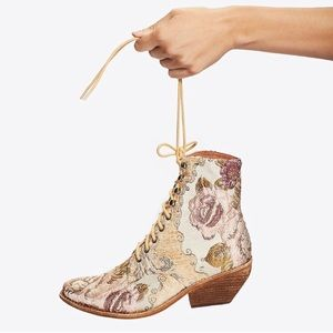 Free People Grove Lace Up Boot